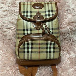 Burberry Vintage Backpack